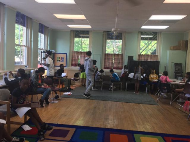 1st Day of Philadelphia Young Playwrights