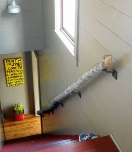 3-diy-handrail-from-a-log