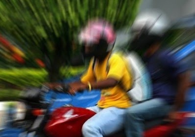 ROUBO-MOTO - MONTE CARMELO