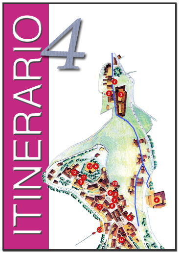 4° Itinerario – Porta di Borgo