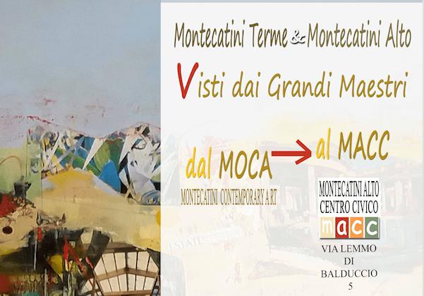Montecatini Alto e Montecatini Terme visti dai grandi artisti