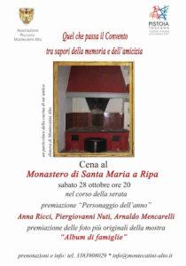 Cena al Monastero Santa Maria a Ripa