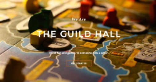 guild hall web page