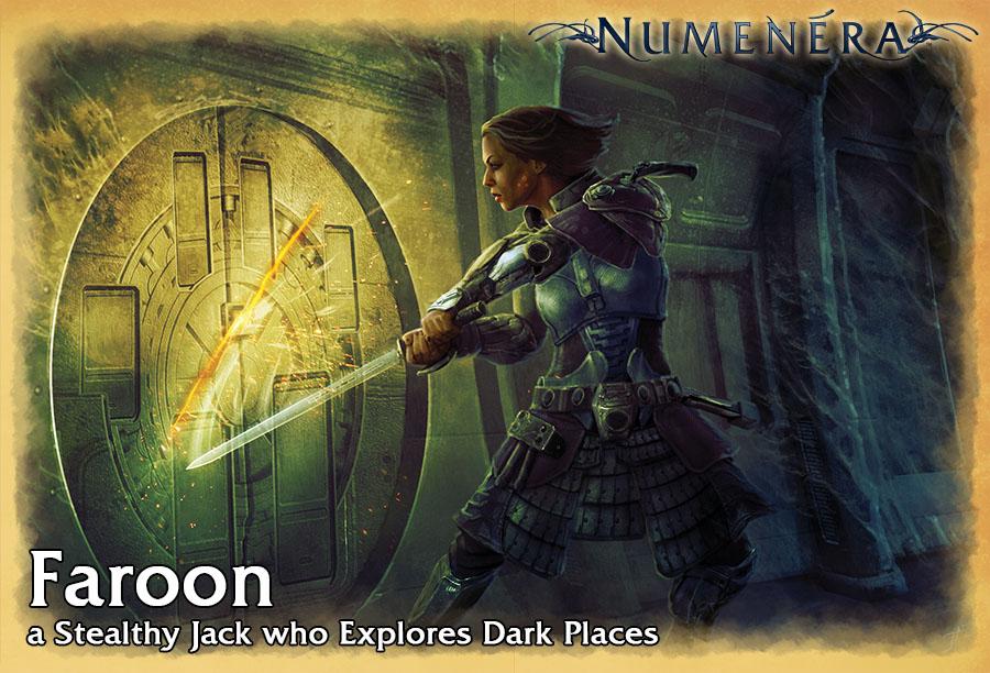 Faroon, a Stealthy Jack who Explores Dark Places