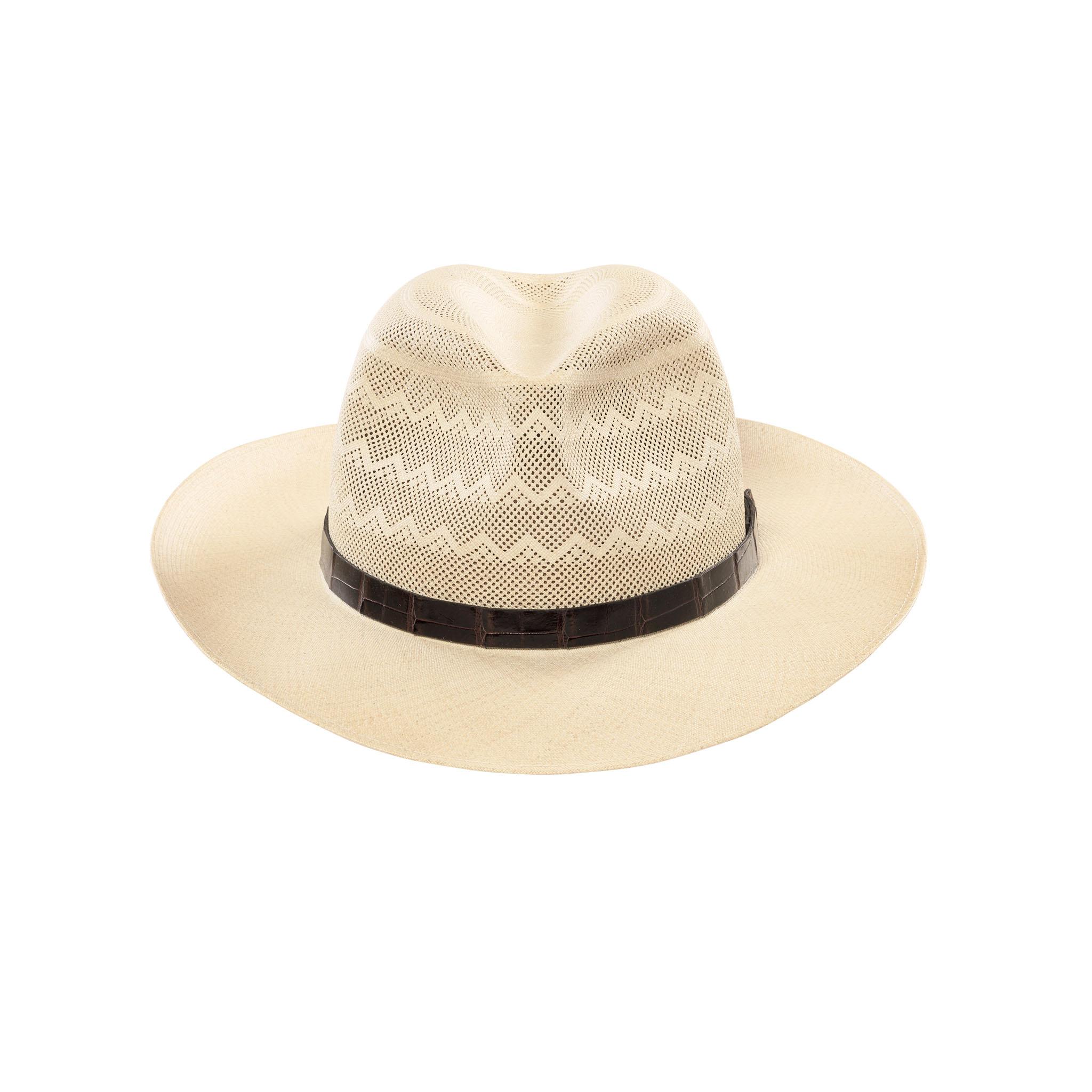 Alain Semi-Calado Panama Hat