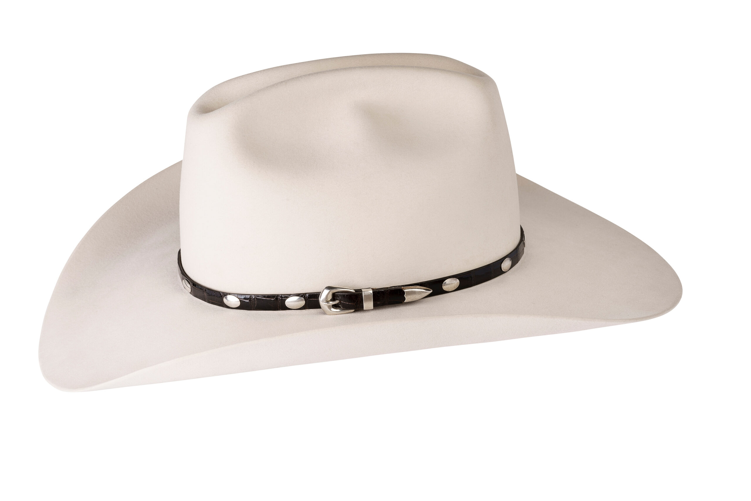 Kallas Sterling Smooth Oval Hat Band