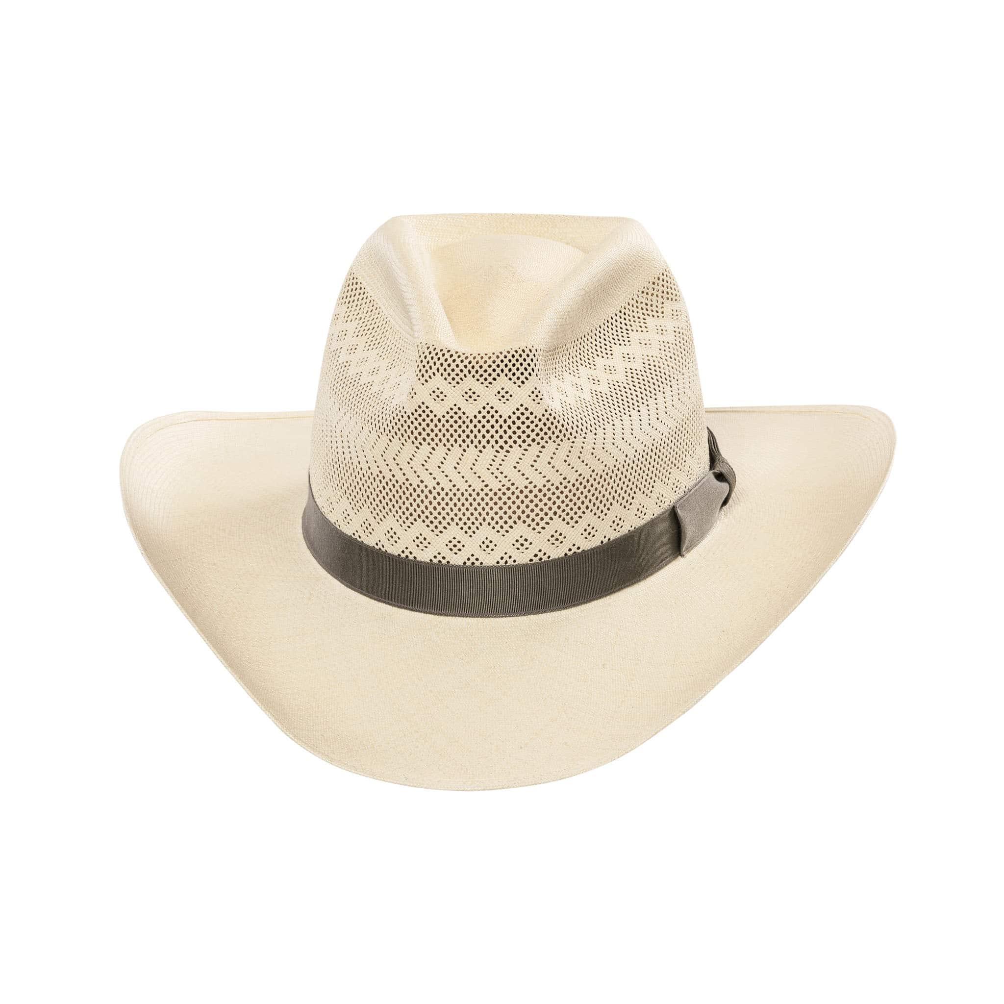 Low RCA Semi-Calado Panama Hat with ribbon band.