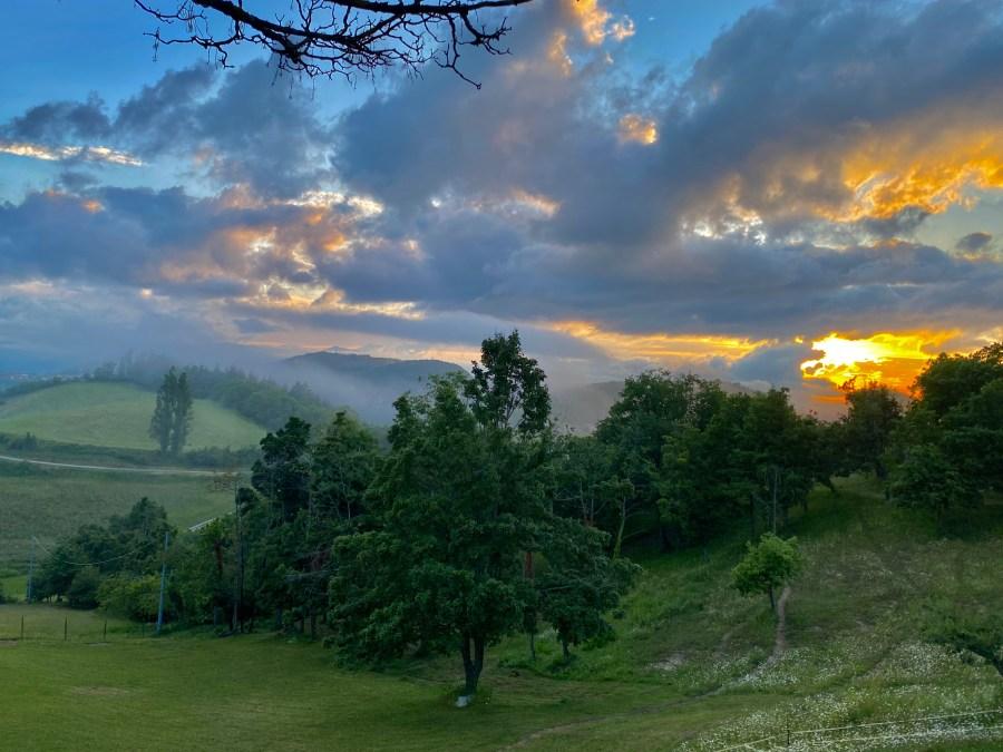 I tramonti da Montefenaro - di Claudio Leoni