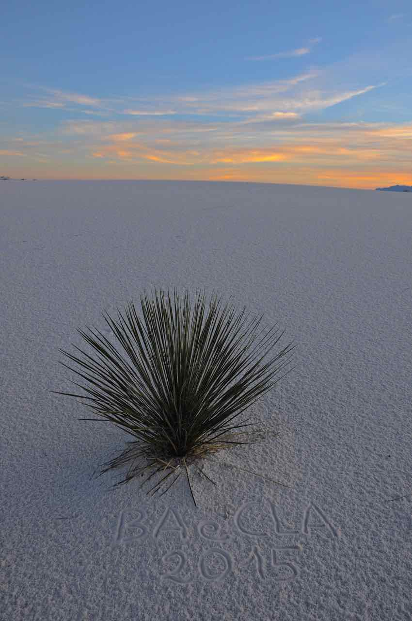 White Sands National Park - New Messico - di Claudio Leoni