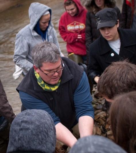 Vertebrate Zoology Spring 2011 - Fish Seining - 03.15.2011 - 11.25.55