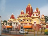 Temple - delhi 2007-06-19 10-16-52 AM-tiltshift