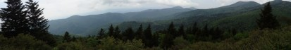 Panorama of overlook