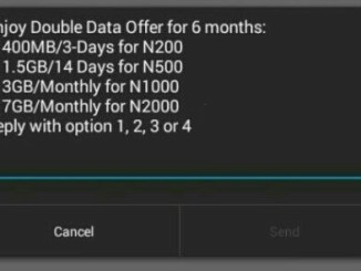 AIRTEL DOUBLE DATA