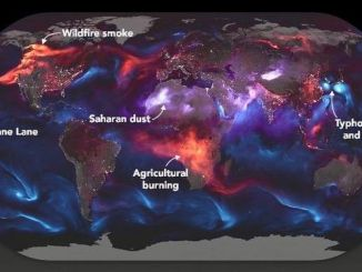 NASA Releases Astonishing Photograph Of The World On Fire