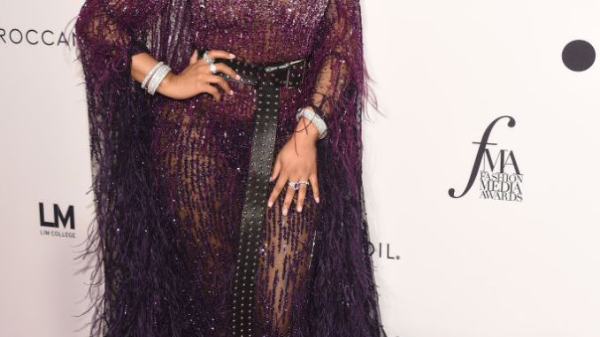 Nicki Minaj, Priyanka Chopra, Gigi Hadid, Paris Jackson, Winnie Harlow attend Daily Front Row's Fashion Awards