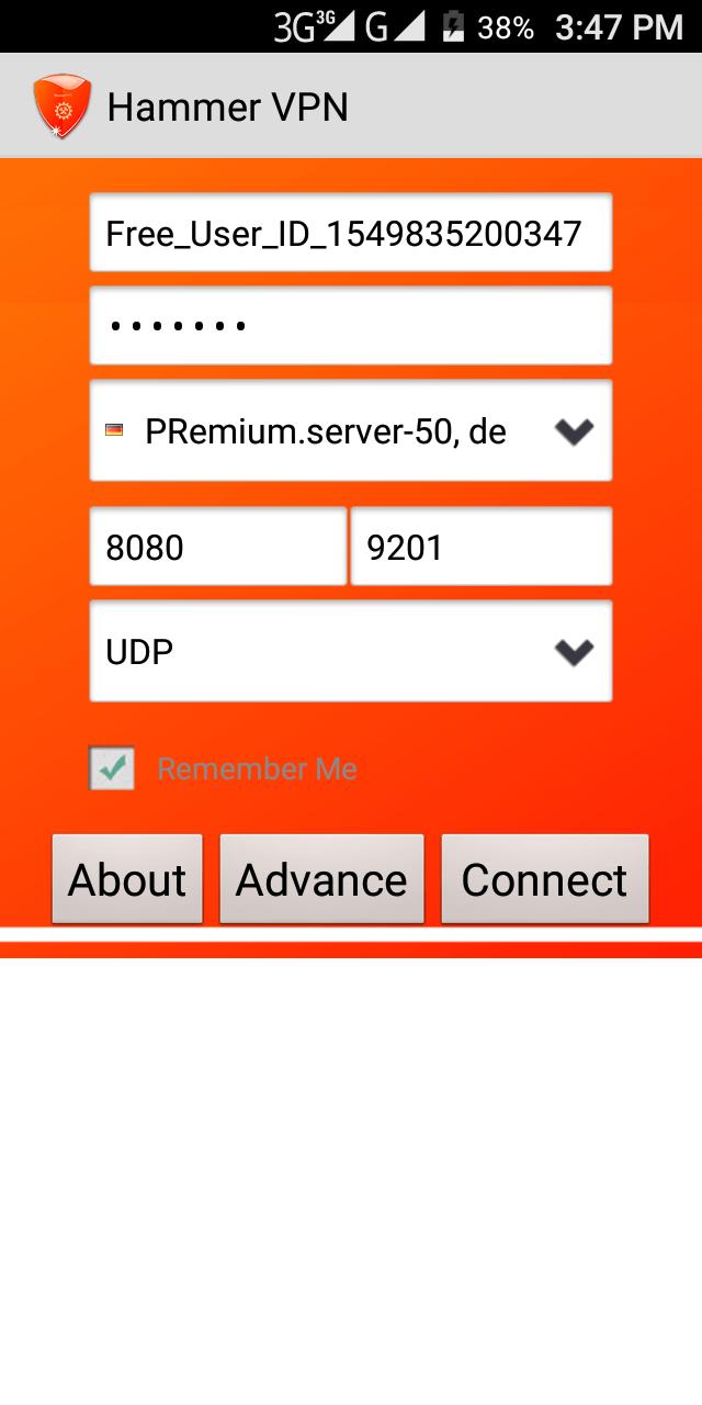 MTN Free Browsing Cheat Hammer VPN