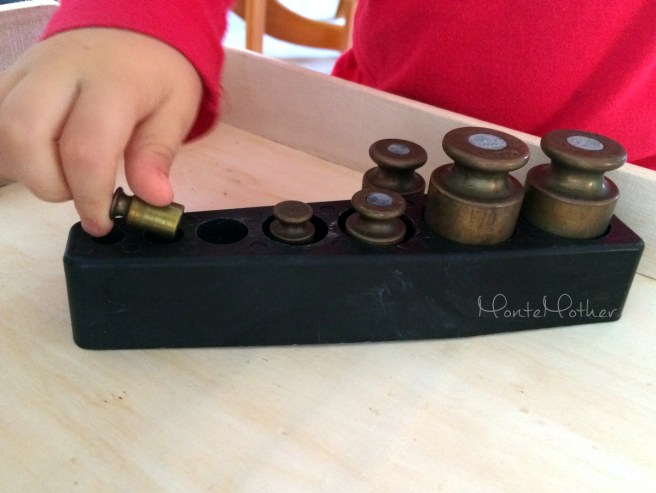 Montessori valčeky