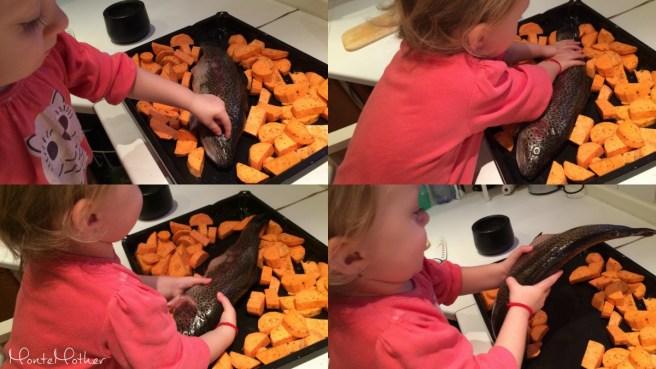 Montessori v kuchyni - rybka