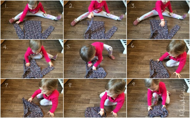 skladanie oblecenia Montessori