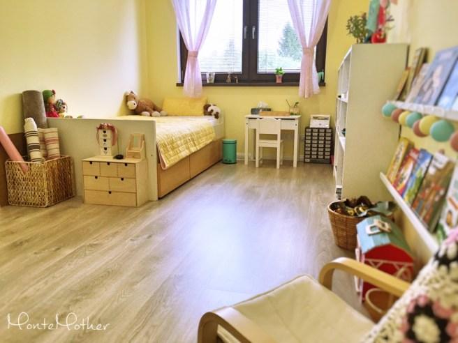 montessori detska Izba child room