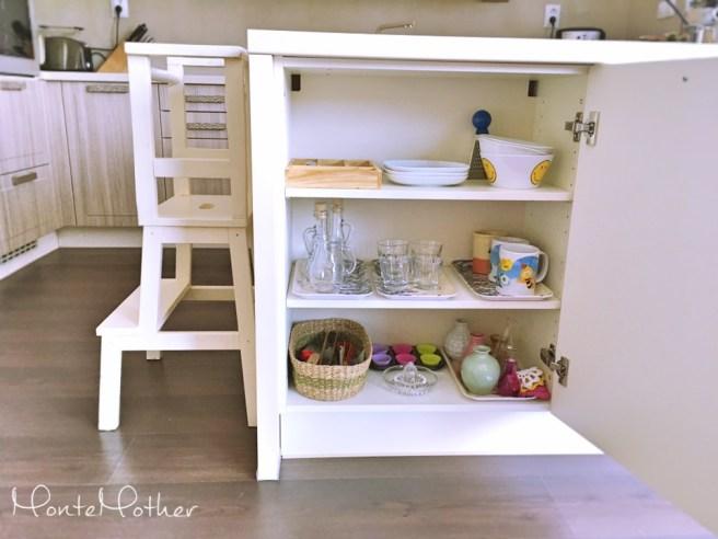 montessori pripravené prostredie kuchynka prepared environment kitchen