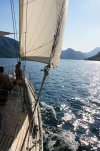 Sailing trips for cruise ships visiting Kotor and Perast
