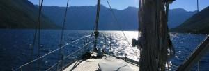 Sailing on Monty B in Kotor Bay Montenegro