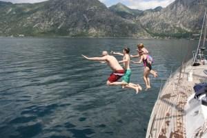 Family fun boat trips on Yacht Monty B in Montenegro