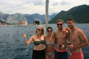 Boat Trip at Perast Yacht Monty B