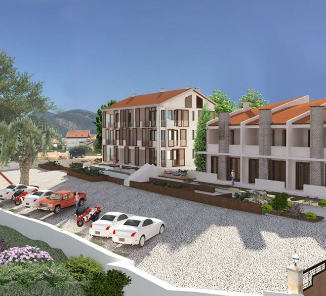 Apartments for sale in Montenegro, townhouses for sale, Donja Lastva, Tivat