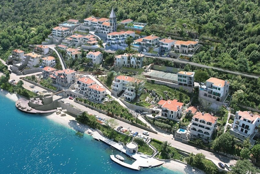 Apartments for sale in Montenegro, Boka Gardens Apartments, Kostanjica