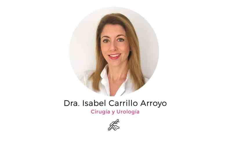 Isabel Carrillo Arroyo - cirugía pediátrica y urología