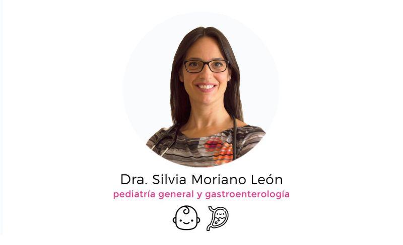Silvia Moriano León pediatra especialista en gastroenterología pediátrica