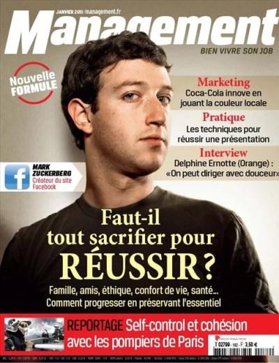 Management Marck Zuckerberg
