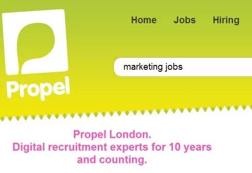 Emploi marketing Londres