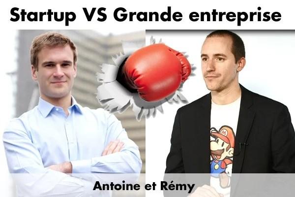 Startup VS Grande entreprise