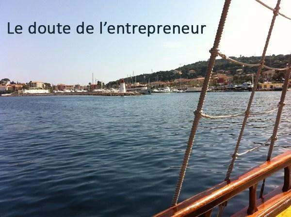 doute de l'entrepreneur