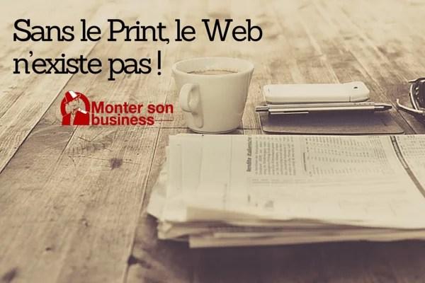 Print ou web ?