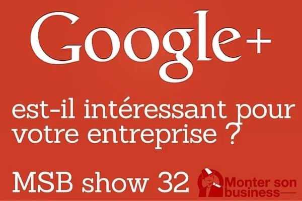 google plus entreprise