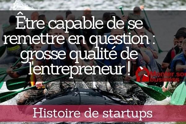 histoire de startup