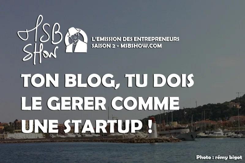 blog startup