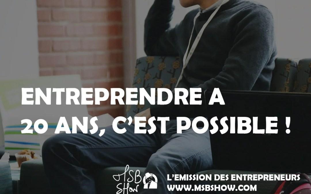 entrepreneur jeune