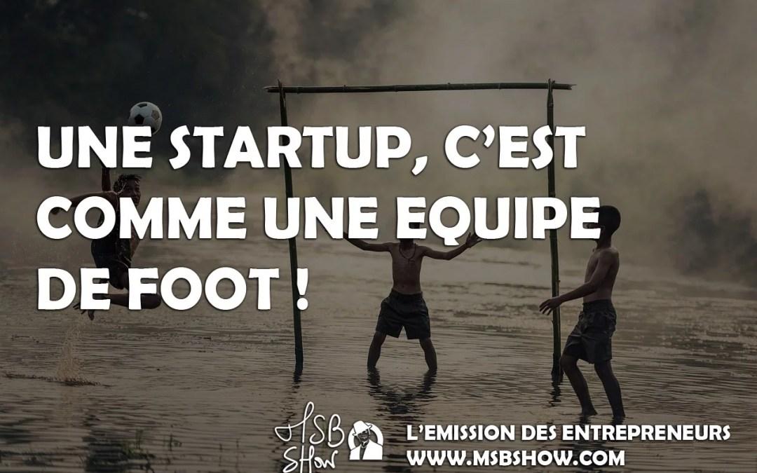 équipe startup