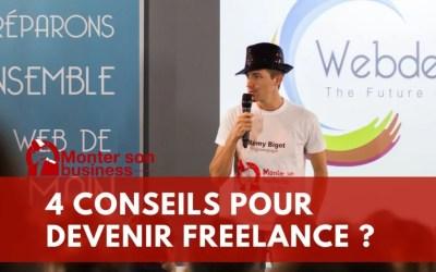 Comment devenir freelance en 4 conseils ?