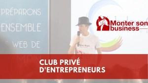 club privé d'entrepreneurs