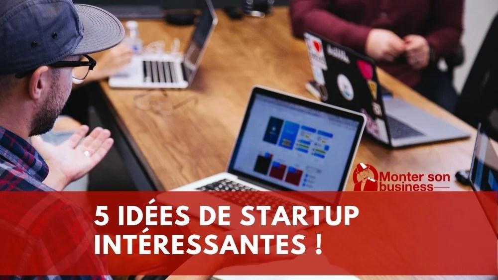 idées startup