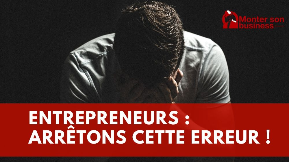 erreur d'entrepreneur