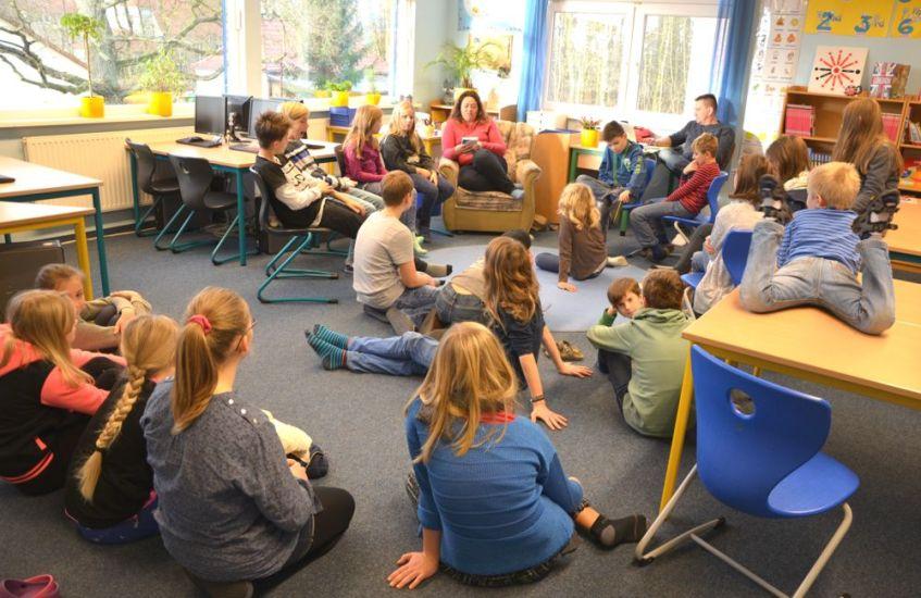 Montessori Grundschule Hangelsberg_Vorlesetag 2015_23