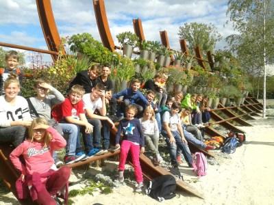 Montessori Grundschule KW_Ausflug der Lerngruppe Rot zur IGA Berlin 2017_2