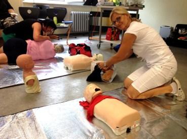 Montessori Grundschule Königs Wusterhausen_Erste-Hilfe-Schulung_Juli 2019_1